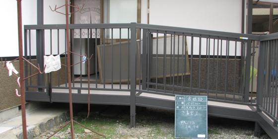 寝室からのバリアフリーリフォームで安全で快適な移動が可能です。